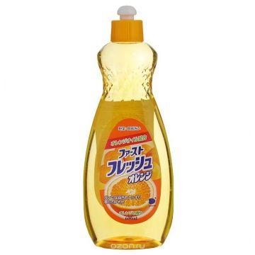 Гель для мытья посуды Daiichi Fresh аромат апельсина 600 мл