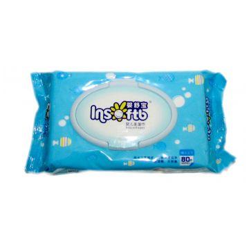 Влажные салфетки для новорожденных Insoftb
