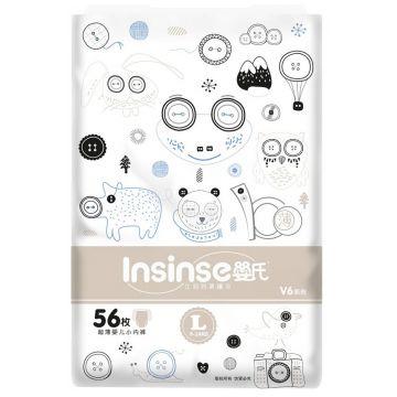Трусики InsinseТрусики Insinse размер L (9-13 кг) 58 шт супертонкие, в упаковке 58 шт., размер L<br><br>Штук в упаковке: 58<br>Размер: L