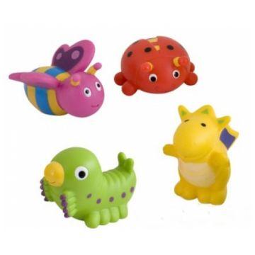 Игрушка в ванну Canpol BabiesИгрушка в ванну Canpol Babies Сад набор 4 шт.<br>