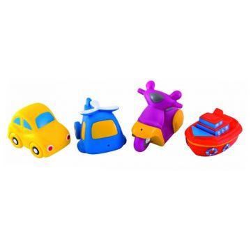 Игрушка в ванну Canpol BabiesИгрушка в ванну Canpol Babies Машинки набор 4 шт.<br>