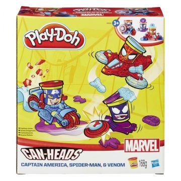 Масса для лепки Play-dohМасса для лепки Play-doh Транспортные средства героев Марвел в ассортименте B0606<br>