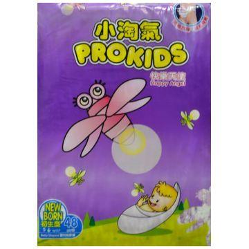 Подгузники ProkidsПодгузники Prokids Happy Angel размер NB (0-5 кг) 48 шт, в упаковке 48 шт., размер NB<br><br>Штук в упаковке: 48<br>Размер: NB