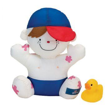Игрушка для купания K`s KidsИгрушка для купания K`s Kids мальчик Wayne с 9 мес. KA418, в упаковке 1 шт., возраст c 9 мес.<br><br>Штук в упаковке: 1<br>Возраст: c 9 мес.