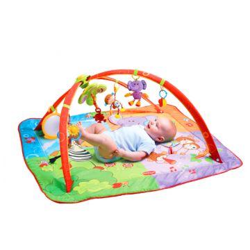 Детский развивающий коврик Tiny LoveДетский развивающий коврик Tiny Love Разноцветное Сафари 408, в упаковке 1 шт., возраст с 0 мес.<br><br>Штук в упаковке: 1<br>Возраст: с 0 мес.