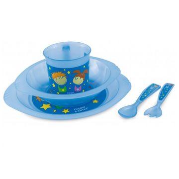 Набор посуды для малыша Canpol Babies прозрачный Мальчик и девочка