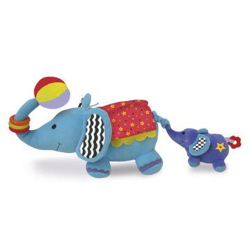Развивающая игрушка EdushapeРазвивающая игрушка Edushape Слоники , возраст с 0 мес.<br><br>Возраст: с 0 мес.