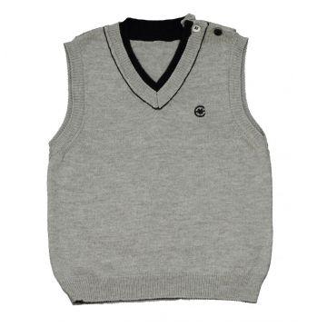 Пуловер BebepanПуловер Bebepan без рукавов (серый) 3-6 мес. арт. 7177_3-6, возраст 3-6 мес.<br><br>Возраст: 3-6 мес.