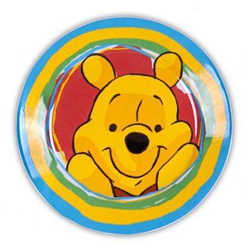 Тарелка DisneyТарелка Disney десертная ВИННИ-ПУХ 20 см, возраст 4 ступень (&gt;12 мес)<br><br>Возраст: 4 ступень (&gt;12 мес)