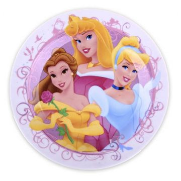 Тарелка DisneyТарелка Disney десертная ПРИНЦЕССЫ 20 см, возраст 4 ступень (&gt;12 мес)<br><br>Возраст: 4 ступень (&gt;12 мес)