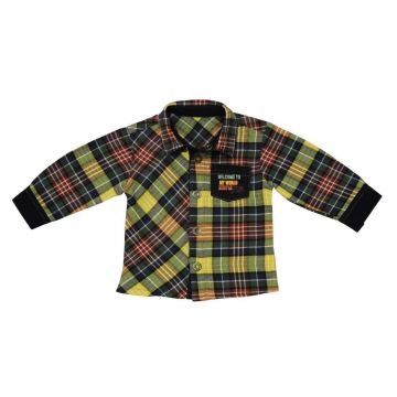 Рубашка BebepanРубашка Bebepan (в клеточку) серия World 3-6 мес. арт. 7589_3-6, возраст 3-6 мес.<br><br>Возраст: 3-6 мес.