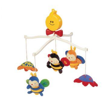 Мобиль K`s Kids Крутящиеся музыкальные игрушки: Пчелки KA322