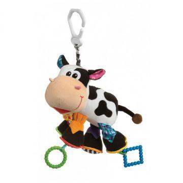 Игрушка-подвеска PlayGroИгрушка-подвеска PlayGro Корова 0182953, возраст с 3 мес.<br><br>Возраст: с 3 мес.