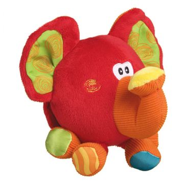 Мягкая игрушка PlayGroМягкая игрушка PlayGro Слоник 0102827, возраст с 3 мес.<br><br>Возраст: с 3 мес.