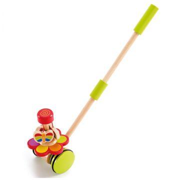 Игрушка деревянная Hape каталка Бабочки в саду Е0341