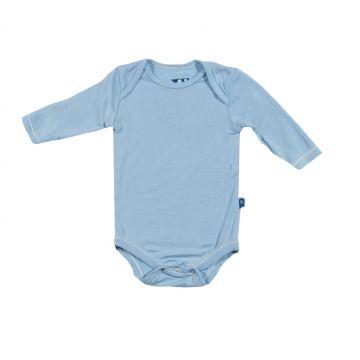 Боди детское KicKee PantsБоди детское KicKee Pants голубое 6-12 мес. арт. 9_6-12, возраст 9-12 мес.<br><br>Возраст: 9-12 мес.