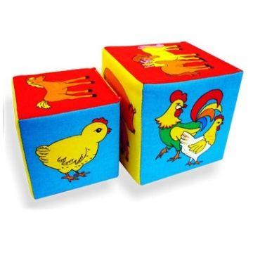 Игрушка МякишиИгрушка Мякиши Кубики Чей детеныш 169, в упаковке 2 шт., возраст с 12 мес.<br><br>Штук в упаковке: 2<br>Возраст: с 12 мес.