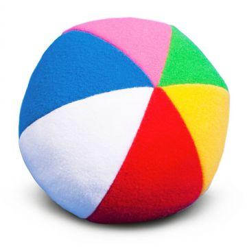 Мяч мягкий Мякиши с погремушкой Радуга 9 см 006