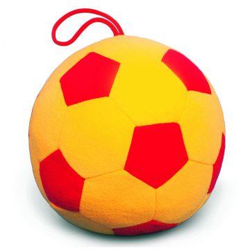 Мяч мягкий МякишиМяч мягкий Мякиши Футбол Люкс 18 см 005, возраст с 12 мес.<br><br>Возраст: с 12 мес.
