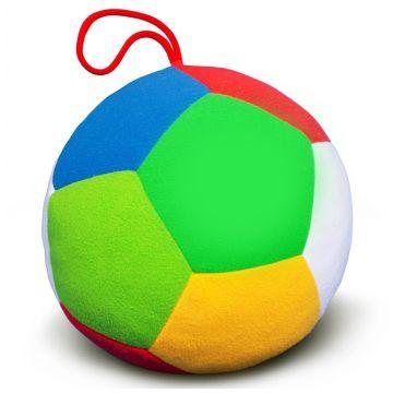 Мяч мягкий МякишиМяч мягкий Мякиши Футбол 18 см 008, возраст с 12 мес.<br><br>Возраст: с 12 мес.