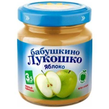 Детское пюре Бабушкино ЛукошкоДетское пюре Бабушкино Лукошко яблоко без сахара с 35 мес. 100 г, возраст 2 ступень (3-6 мес). Проконсультируйтесь со специалистом. Для детей с 3,5 мес.<br><br>Возраст: 2 ступень (3-6 мес)