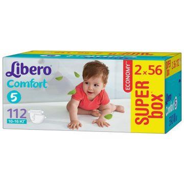 Подгузники LiberoПодгузники Libero comfort размер L (10-16 кг) 112 шт, в упаковке 112 шт., размер L<br><br>Штук в упаковке: 112<br>Размер: L