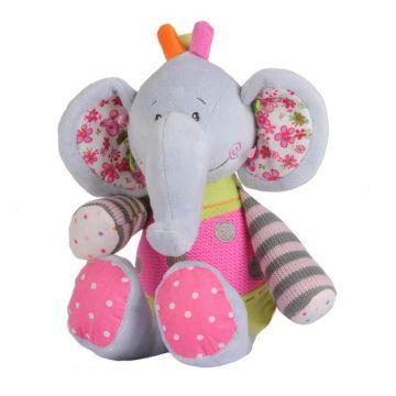 Игрушка BabyOnoИгрушка BabyOno Мягкая велюровая Слоненок большой 9885, возраст с 3 мес.<br><br>Возраст: с 3 мес.
