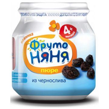 Детское пюре Фрутоняня Чернослив 100 г