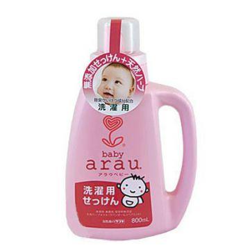 Жидкое мыло для стирки детского белья SarayaЖидкое мыло для стирки детского белья Saraya Arau Baby флакон 800 мл<br>