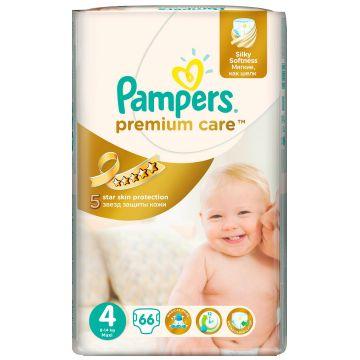 Подгузники PampersПодгузники Pampers Premium Care Maxi (8-14 кг) Джамбо Упаковка 66 шт, в упаковке 66 шт., размер L<br><br>Штук в упаковке: 66<br>Размер: L