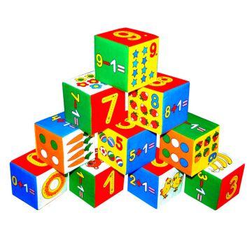 Игрушка МякишиИгрушка Мякиши Кубики Умная математика 177, возраст с 2 лет<br><br>Возраст: с 2 лет
