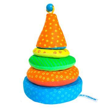 Игрушка мягкая МякишиИгрушка мягкая Мякиши Пирамидка 031, возраст с 6 мес.<br><br>Возраст: с 6 мес.