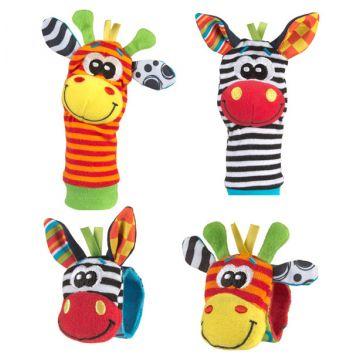 Игровой набор PlayGroИгровой набор PlayGro Погремушки на ручку и носочки 0183077, возраст с 3 мес.<br><br>Возраст: с 3 мес.