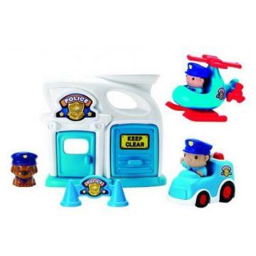 Игровой набор KeenwayИгровой набор Keenway Полиция 8054, возраст с 18 мес.<br><br>Возраст: с 18 мес.