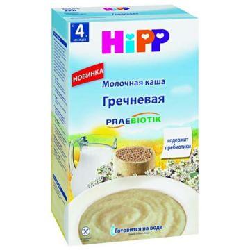 Каша Детское питание HippКаша Hipp гречневая молочная с пребиотиком 250 г, объем, 250л., возраст 2 ступень (3-6 мес). Проконсультируйтесь со специалистом. Для детей с 4 мес.<br><br>Объем, л.: 250<br>Возраст: 2 ступень (3-6 мес)