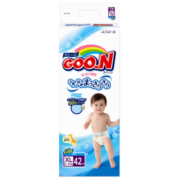 Подгузники Goo.N размер XL (12-20 кг) 42 шт