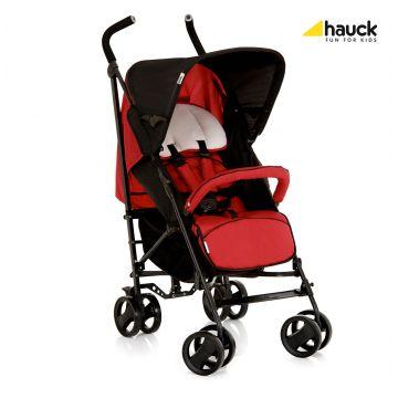 Коляска HauckКоляска Hauck LIMA T13 (черный/красный)<br>