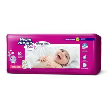 Пеленки детские Helen HarperПеленки детские Helen Harper Baby впитывающие 90x60 10 шт, в упаковке 10 шт.<br><br>Штук в упаковке: 10