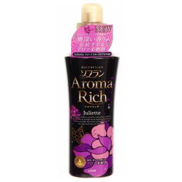 Кондиционер для белья LionКондиционер для белья Lion Aroma RICH Juliette с натуральными маслами ваниль-жасмин флакон 600 мл, объем, 600л.<br><br>Объем, л.: 600