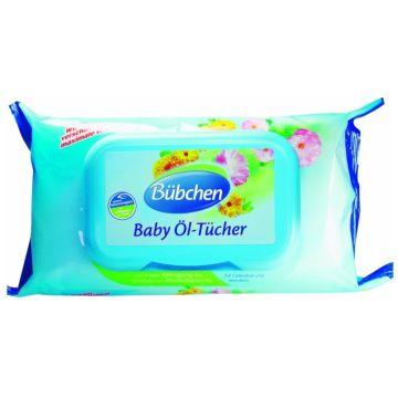 Очищающие салфетки BubchenОчищающие салфетки Bubchen промасленные 72 шт с рождения, в упаковке 72 шт.<br><br>Штук в упаковке: 72