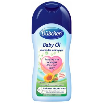 Масло для младенцев с рождения BubchenМасло для младенцев с рождения Bubchen 400 мл<br>
