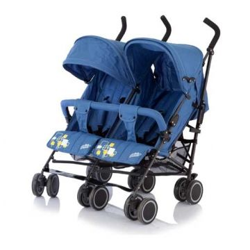 Коляска-трость Baby careКоляска-трость Baby care для двойни Citi Twin Blue<br>