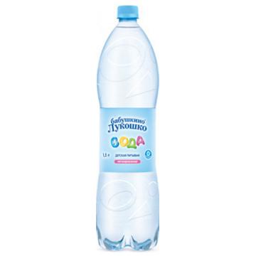 Детская вода Бабушкино Лукошко с рождения 1.5 л