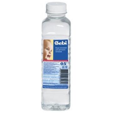 Детская вода BebiДетская вода Bebi с рождения 0.5 л, возраст 1 ступень (0-3 мес). Проконсультируйтесь со специалистом. Для детей с 0 месяцев<br><br>Возраст: 1 ступень (0-3 мес)