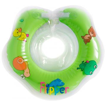 Надувной круг на шею детский FlipperНадувной круг на шею детский Flipper<br>