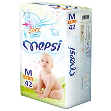 Подгузники MepsiПодгузники Mepsi размер M (6-11 кг) 42 шт, в упаковке 42 шт., размер M<br><br>Штук в упаковке: 42<br>Размер: M