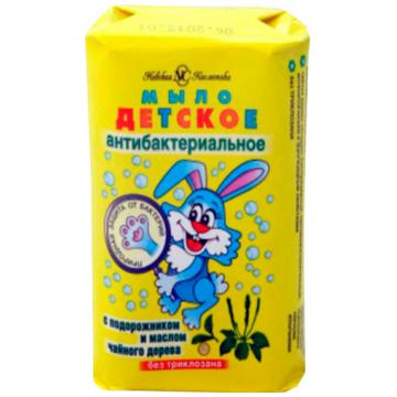 Мыло детское туалетное Невская косметикаМыло детское туалетное Невская косметика антибактериальное 90 г, возраст с 0 мес.<br><br>Возраст: с 0 мес.