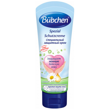 Защитный крем специальный BubchenЗащитный крем специальный Bubchen с рождения 75 мл<br>