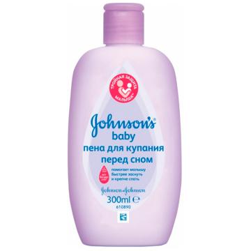 Пена для купания Johnson  and  JohnsonПена для купания Johnson  and  Johnson baby Перед сном 300 мл.<br>