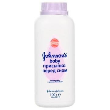 Присыпка Johnson  and  JohnsonПрисыпка Johnson  and  Johnson Перед сном с ароматом лаванды и ромашки  100 г<br>